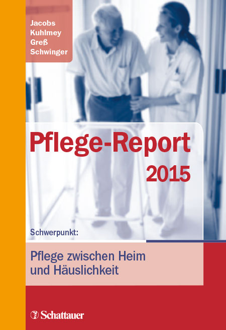 Cover der WIdO-Publikation Pflege-Report 2015
