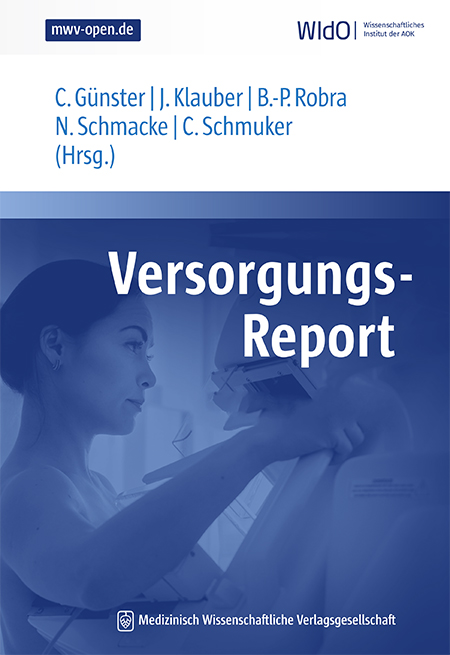 Cover der WIdO-Publikation Versorgungs-Report