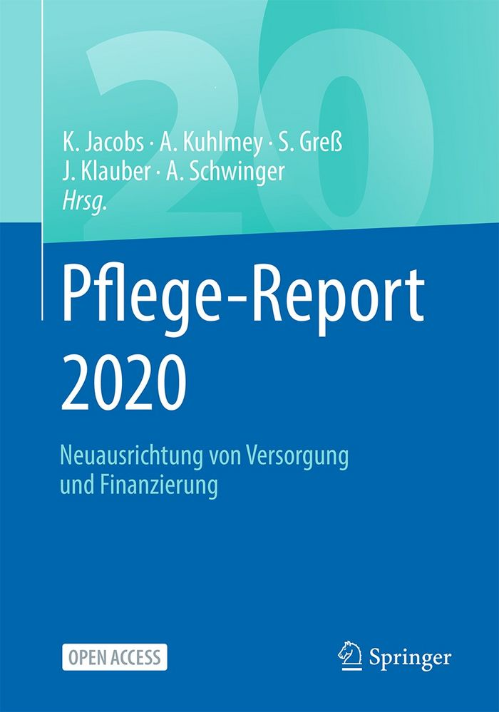 Cover des Pflege-Reports 2020